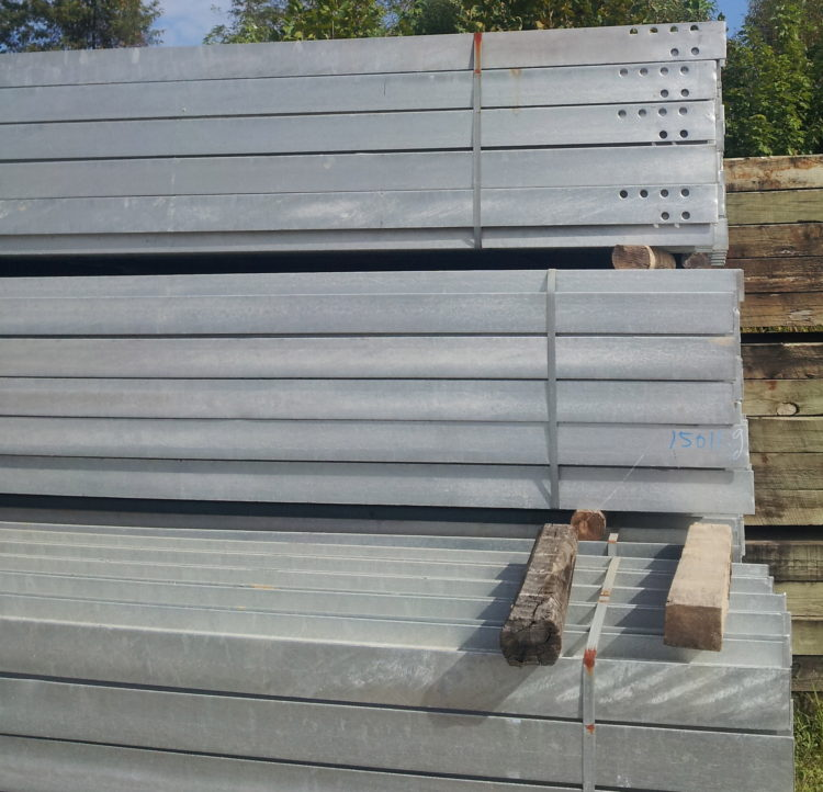 galvanized beam I-beam posts for any project