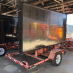 trailer mounted message board
