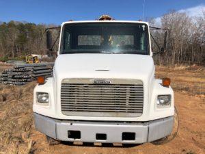 Freightliner FL-60 - GRT Guardrail Pounder Truck