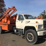1994 Ford F700 Sterling Post Driver