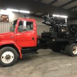 1994 Freightliner FL70 Sterling Combination Post Driver