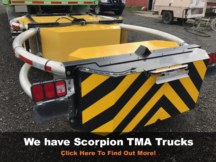 TMA TRUCK MOUNTED SCORPION ATTENUATOR