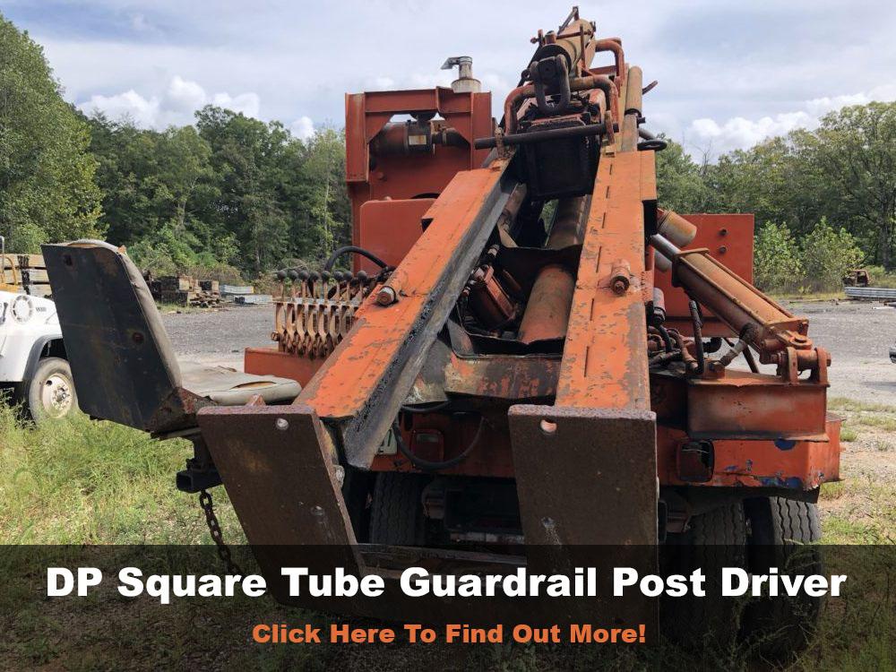 dp square tube guardrail post driver