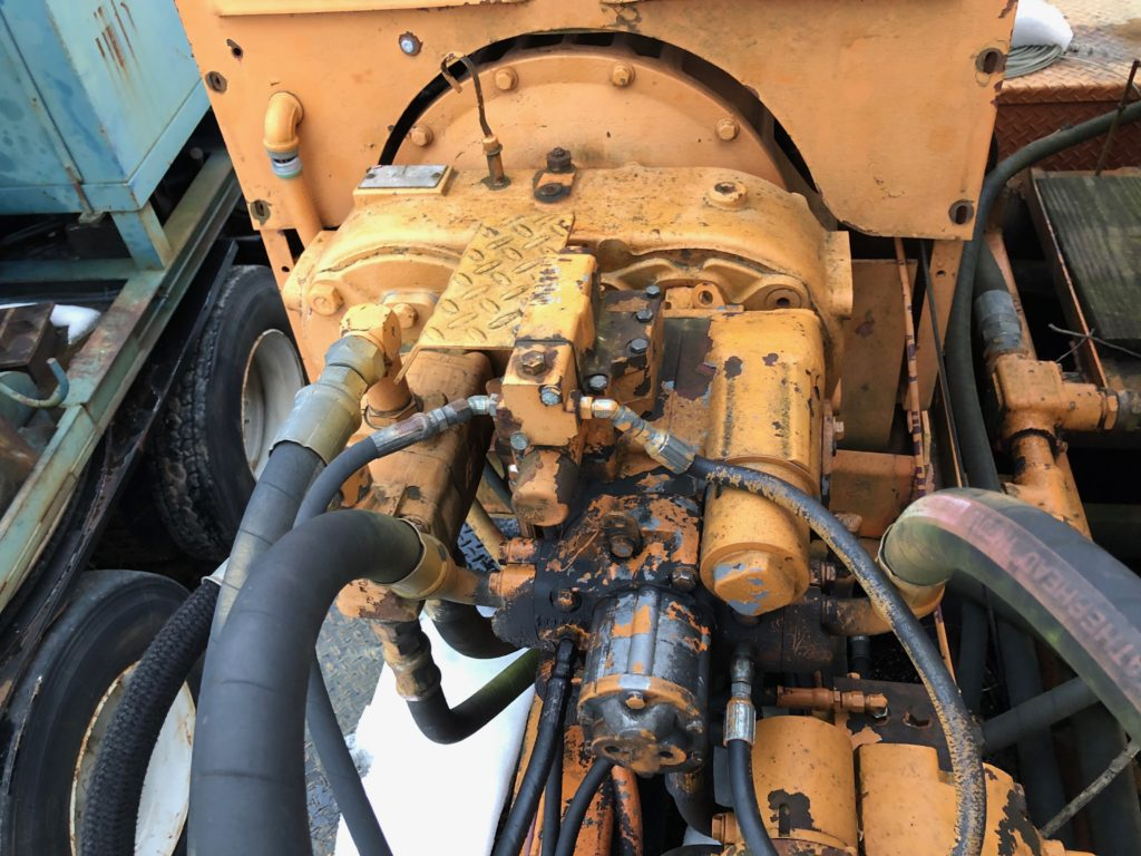 Guardrail Pounder Truck-Drop Hammer-Combo Unit