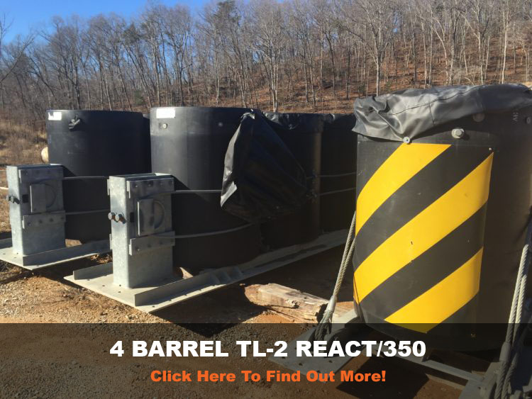 BARREL REACT UNITS FOR ROAD SIDE SAFETY