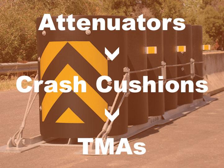 Where to buy Attenuators, Crash Cushions, and TMA's?