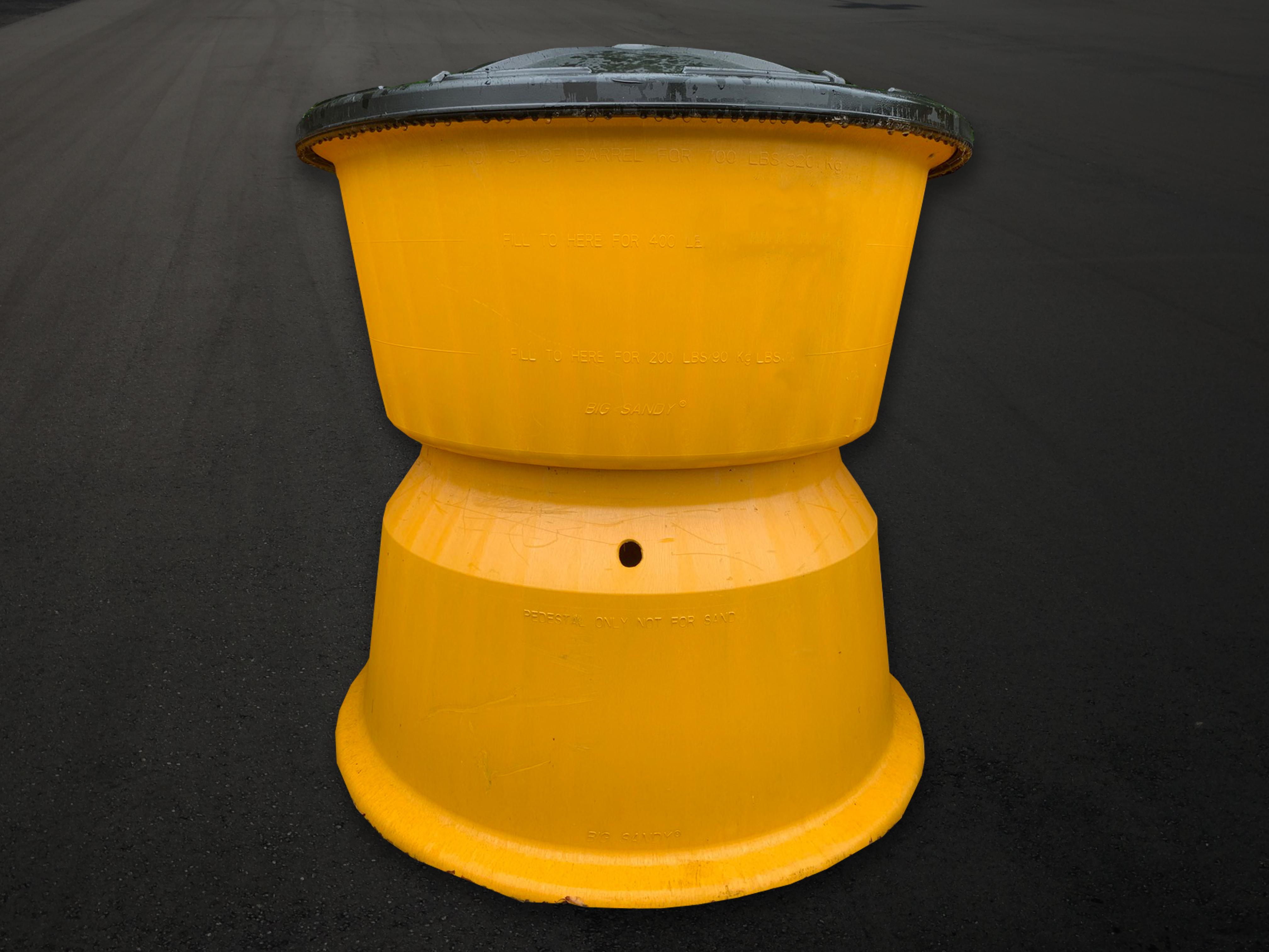 Big Sandy Impact Attenuator Sand Barrel